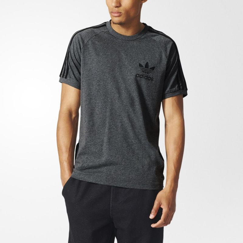 Adidas Originals California Mens Tee Shirt Dark Grey