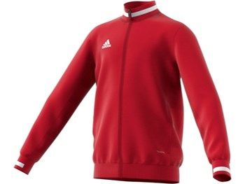 Adidas T19 Youth Junior Teamwear Track Jacket Red