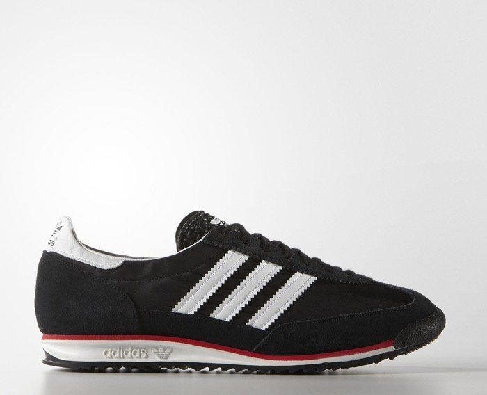 Adidas Originals SL72 Vintage Men's Sports Casual Trainer Shoes Black