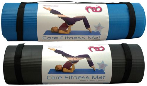 Fitness Mad NBR Pilates Mat 10mm Blue
