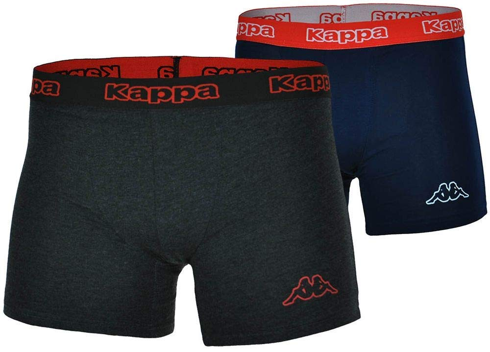 72f584f607 Kappa Classic Logo Mens Boxer Shorts Briefs Trunk Underwear Pack of ...