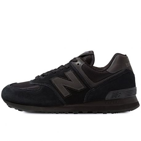 New Balance 574 v2 Mens Running Sports Casual Trainer Shoes Black