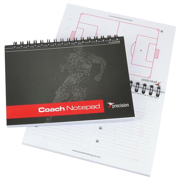 Precision A6 Football Pro-Coach Notepad (Pack 6)