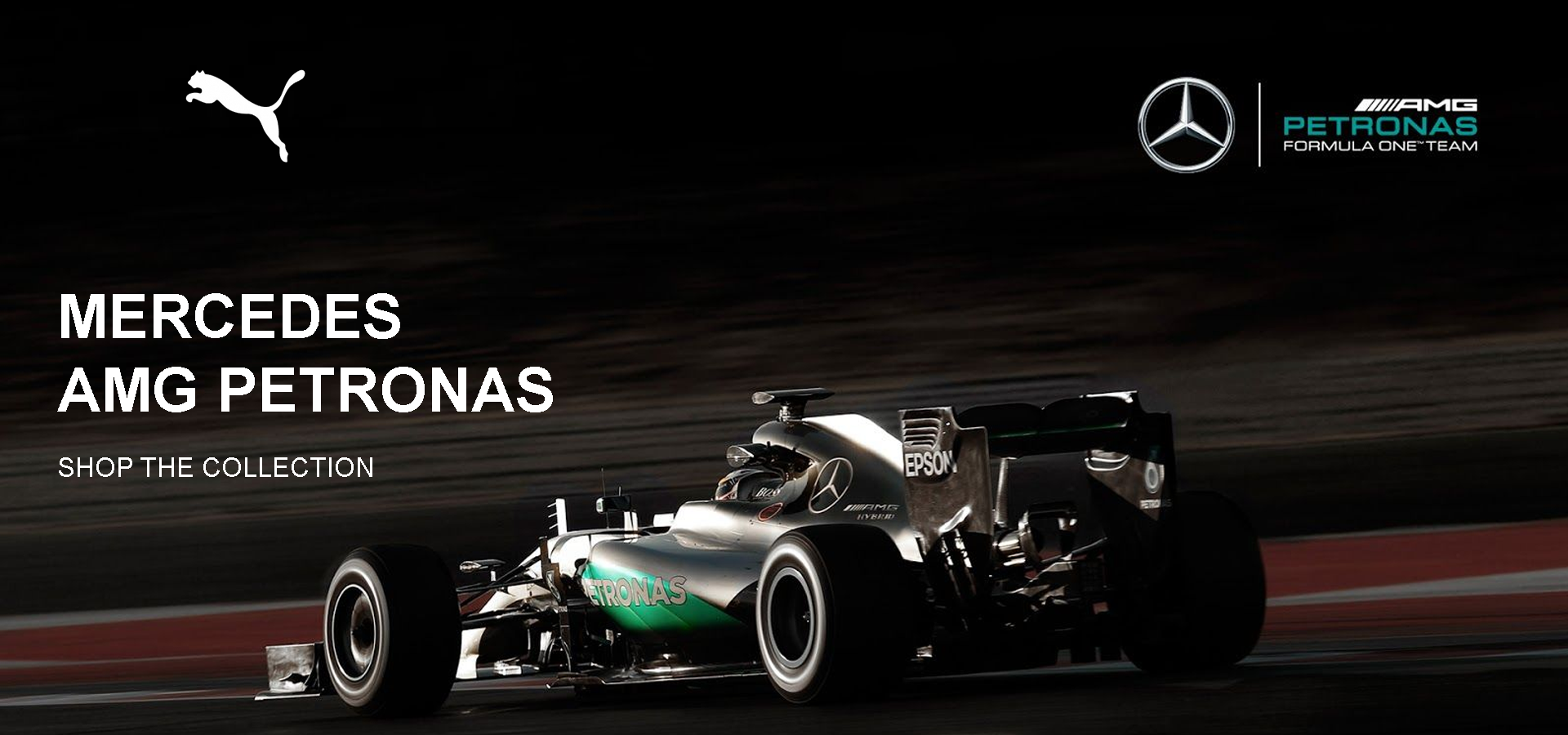 Shop Puma Mercedes AMG Petronas Collection